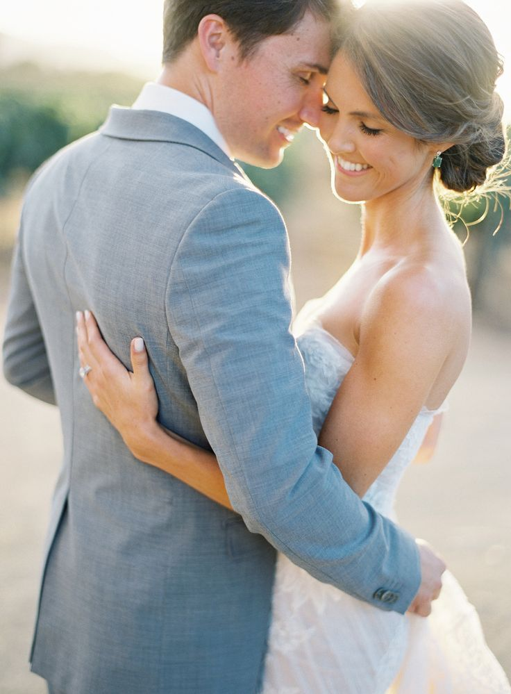 Photography: Jose Villa Photography - josevillaphoto.com TEAM hair & makeup Read More: http://www.stylemepretty.com/2014/03/12/al-fresco-wedding-in-santa-ynez/