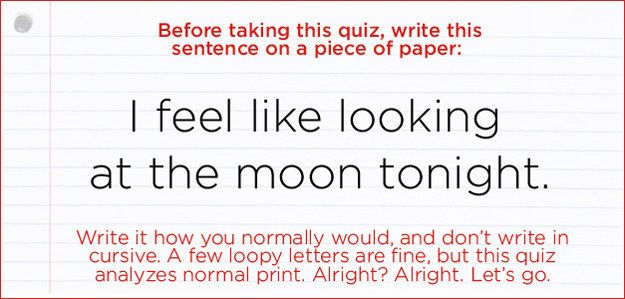 What Does Your Handwriting Actually Say About You