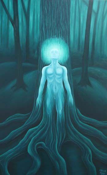 The Awakening - Huile sur toile, 30x48 pouces de - VENDU