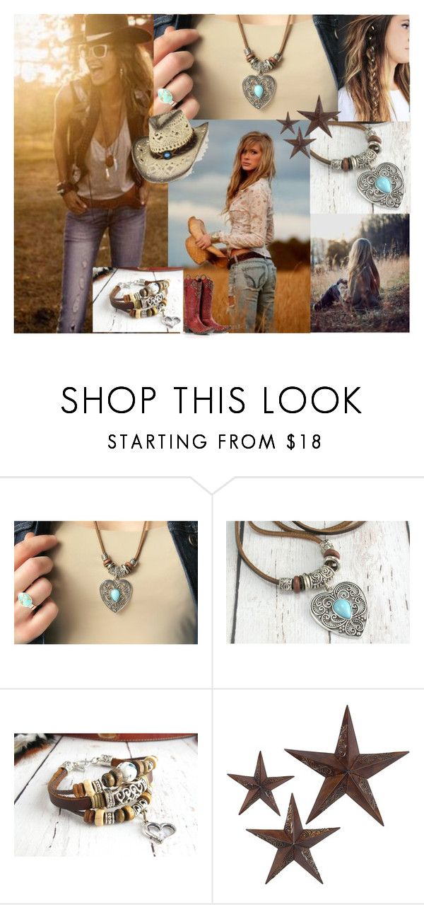 Boho-Cowgirl by amys-leather-lane on Polyvore featuring jcp, women's clothing, women's fashion, women, female, woman, misses and juniors