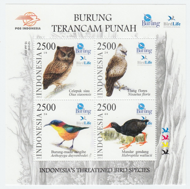 Indonesia - MS Indonesia's Threatened Bird Species 2012