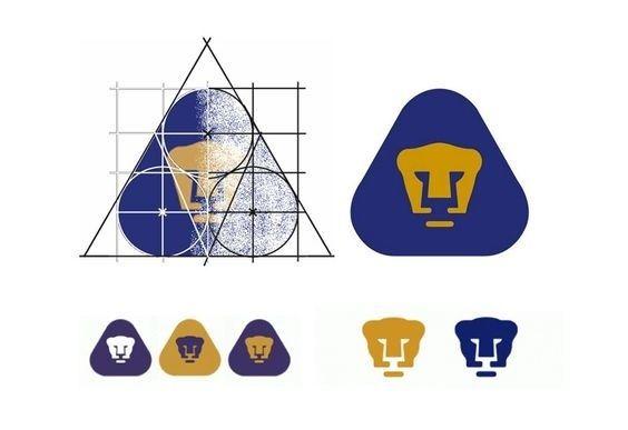 """Pumas logo by Manuel Andrade """"El Pajarito"""" for University in México (UNAM) circa 1974"""