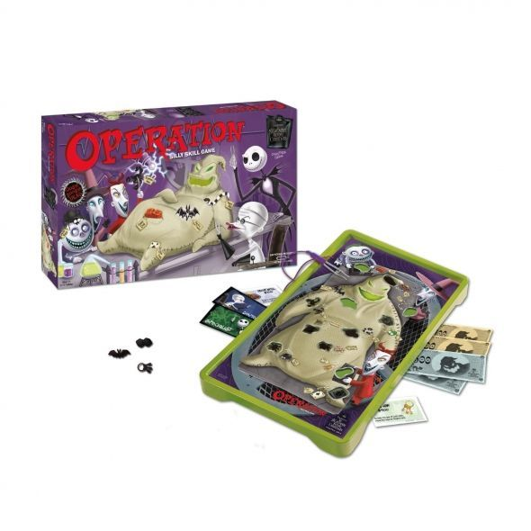 The Nightmare Before Christmas Is A Theme For Many Christmas Games Like This Version Of Operation.