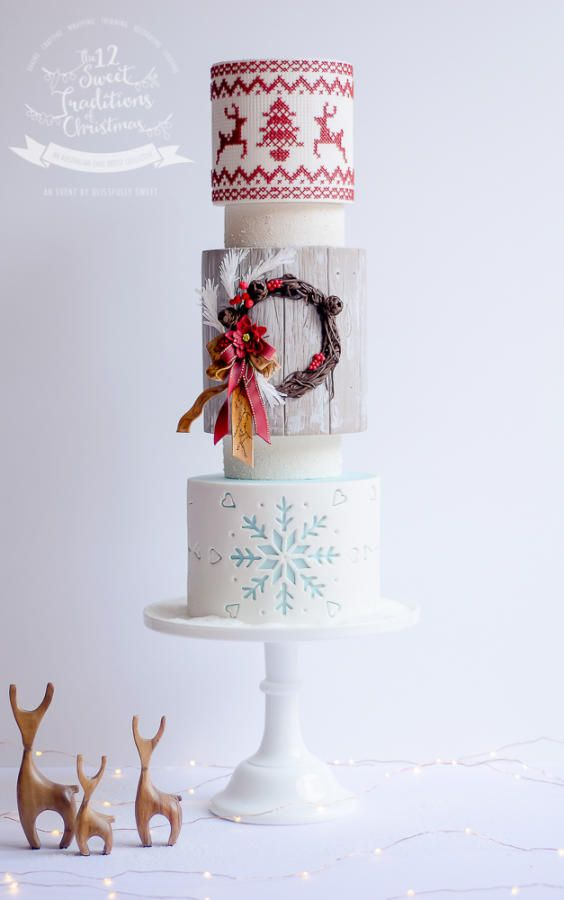 The 12 Sweet Traditions of Christmas - Crafting by Van Goh Cakes