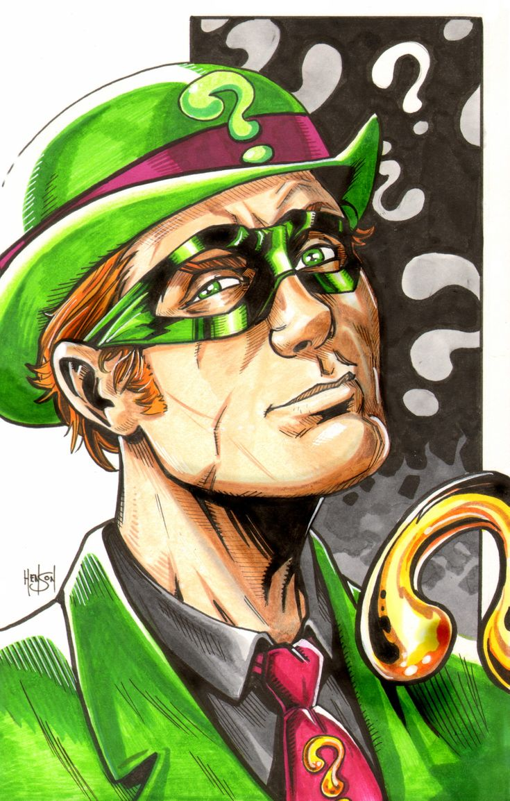 Riddler by Eric Henson