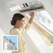 Top operated VELUX Roof Window Střešní okno VELUX s horním ovládáním