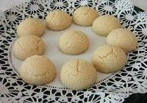 Recipe Polvorones, ball shaped cookies