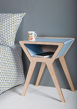 Contemporary bedside table- Pod bedside table