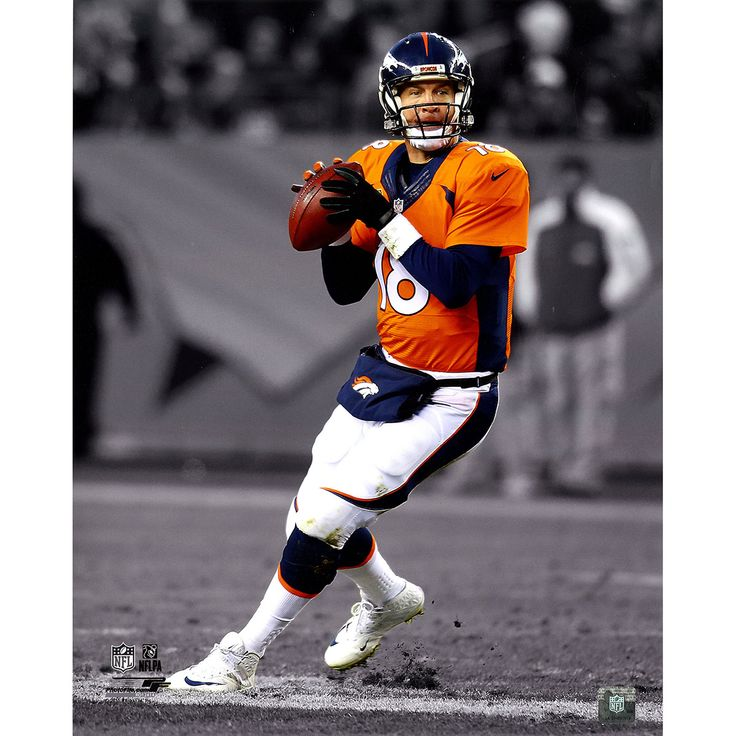 Peyton Manning Denver Broncos Color Accent 16x20 Photograph (AARO124) - This is an 16x20 photo of Football star Peyton Manning. It would make a great addition to any fans collection. **Photo Only Sold With Framing**. Gifts > Licensed Gifts > Nfl > Denver Broncos. Weight: 1.00