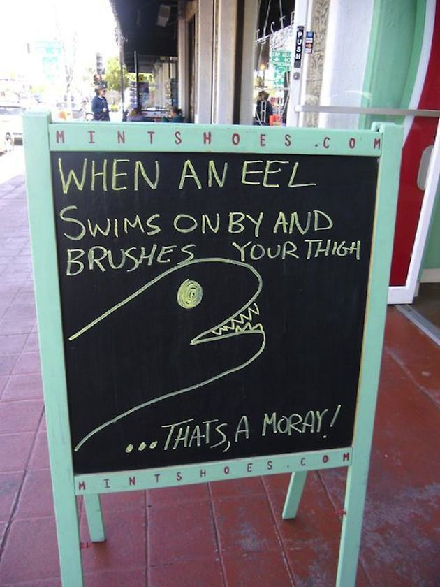 Creative Restaurant Signs Funny Sandwich