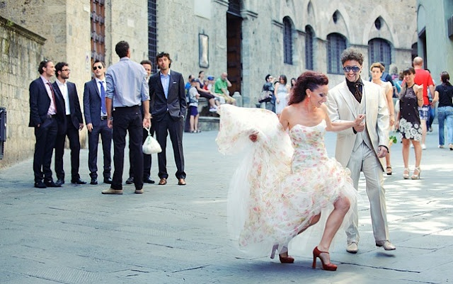 Wedding in Siena. Photography by Andrea Corsi