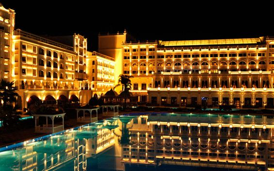 The most expensive hotel in Europe. Mardan Palace – Antalya, Turkey