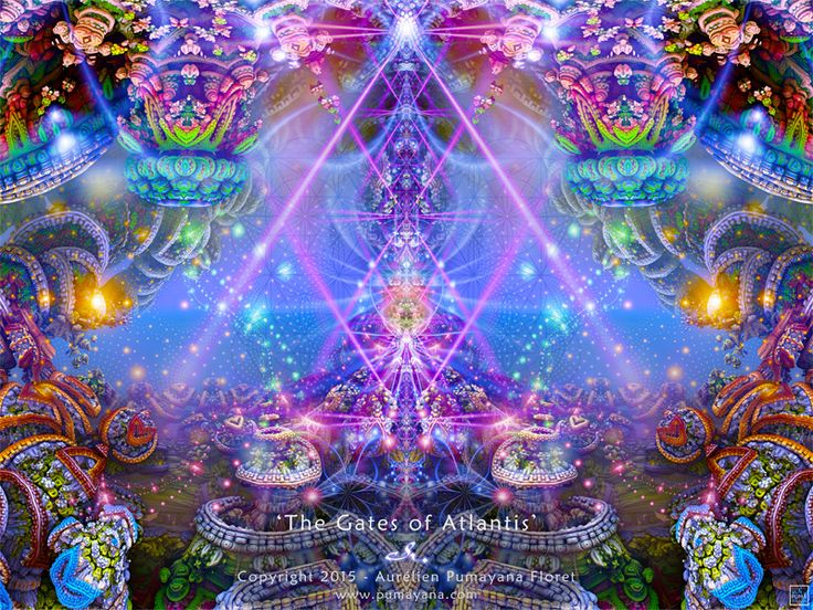 Galactic Series - Official page of Visionary Artist PUMAYANA