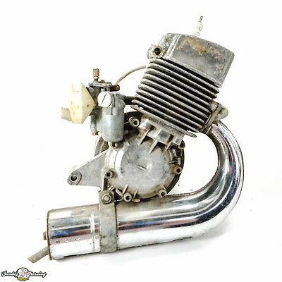 Used motobecane cady moped 49cc engine