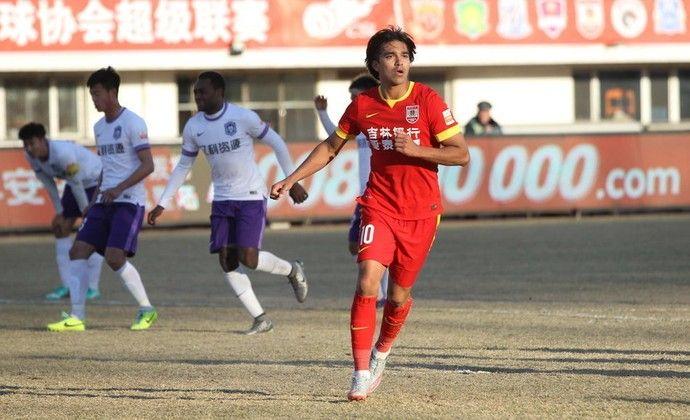 Marcelo Moreno, Changchun Yatai x Tianjin Teda (Foto: sina.com)
