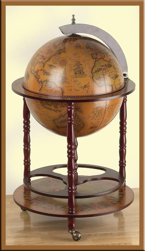 hidden bar furniture. large 17 12 world globe wine rack builtin hidden bar replica of furniture e