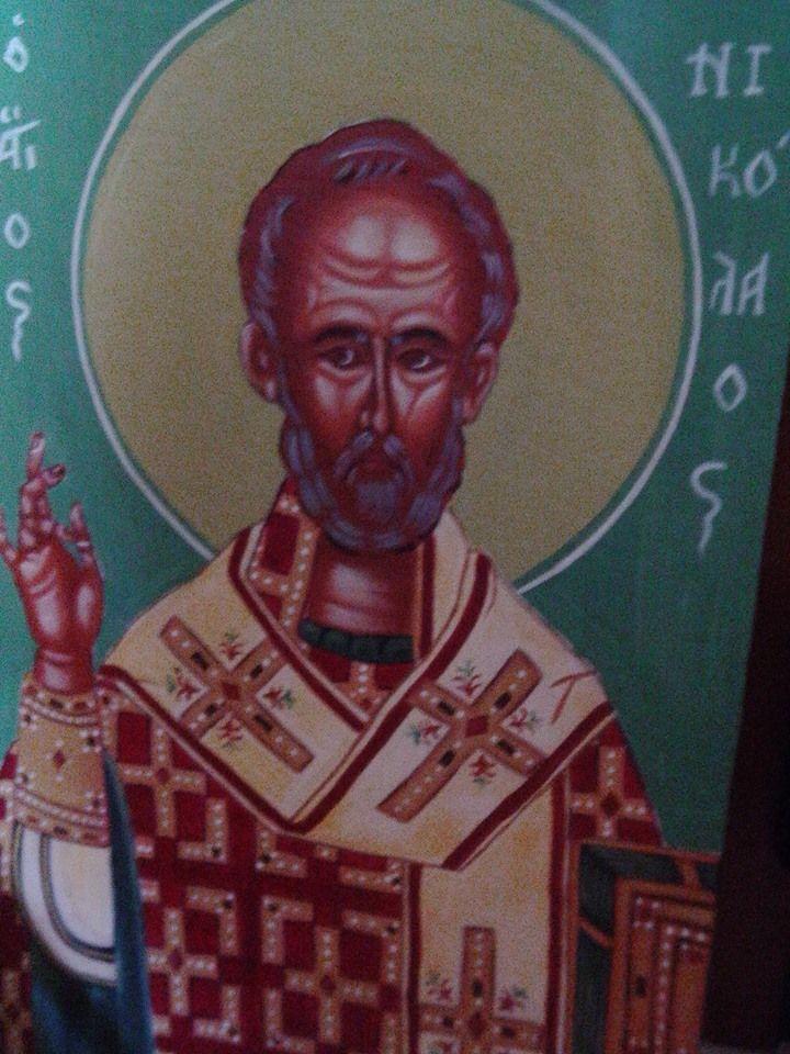 'Αγιος Νικόλαος. Κρητική σχολή.
