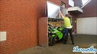 The Motorcycle Garage Protection From Weather, Teft And Vandalism