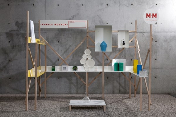 The Mobile Museum, a collaboration between the V&A; and Fabrica, the Benetton Group's communication research center