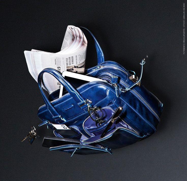 Torba na laptop, teczka Piquadro z kolekcji Blue Square. Do nabycia w sklepie internetowym www.multicase24.pl