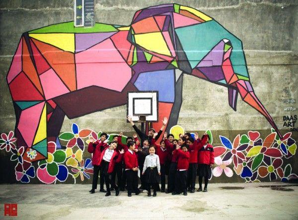 art mural garden - Buscar con Google