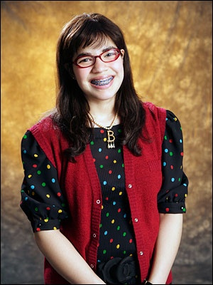 Ugly Betty, an actual Miss America by birth.