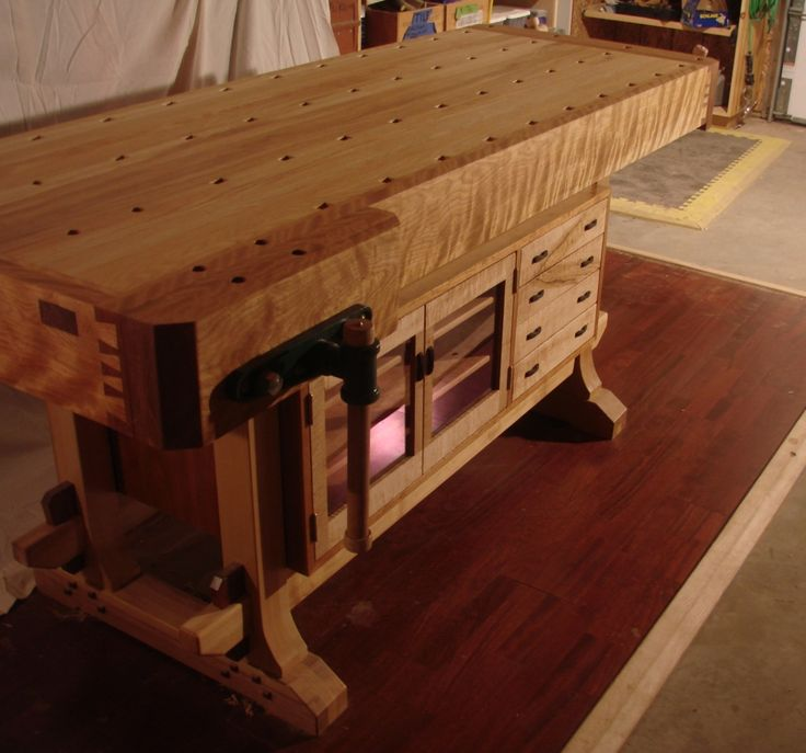 woodworking bench reader's gallery