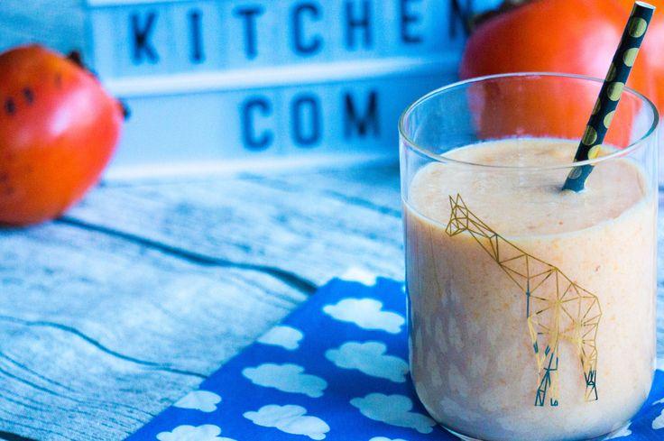 Het recept voor deze sharonfruit sinaasappel smoothie staat nu online op Babies Kitchen. Maak het als tussendoortje of ontbijt voor je kinderen.