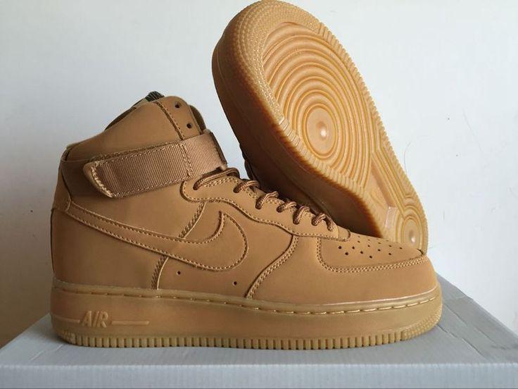 Nike Air Force 1 High Wheat AF1 Shoes