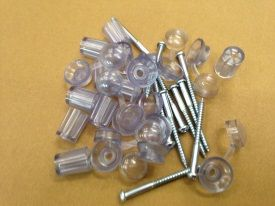Screws, Caps and Washers pack of 10