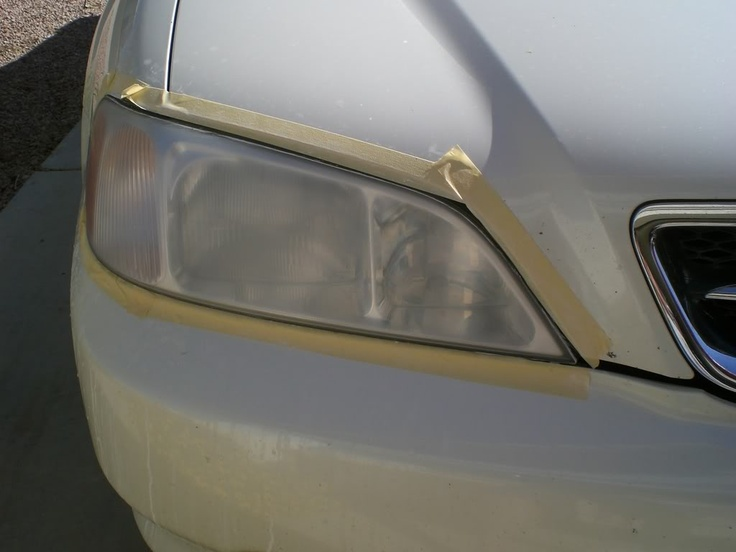 Headlight restoration process