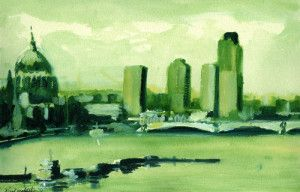 'London Apple Green' by Paul Mitchell