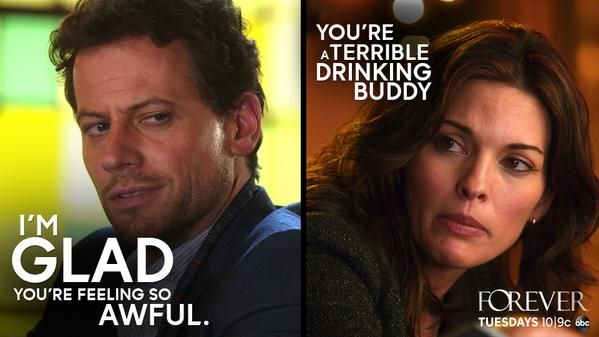 """S1 Ep6 """"The Frustrating Thing About Psychopaths"""" - """"Life is too short to waste on cheap alcohol."""" Dr. Henry Morgan #Forever"""