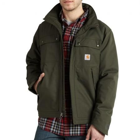 Carhartt 101492 - Carhartt Jefferson Quick Duck Traditional Jacket - Quilt Lined at Dungarees