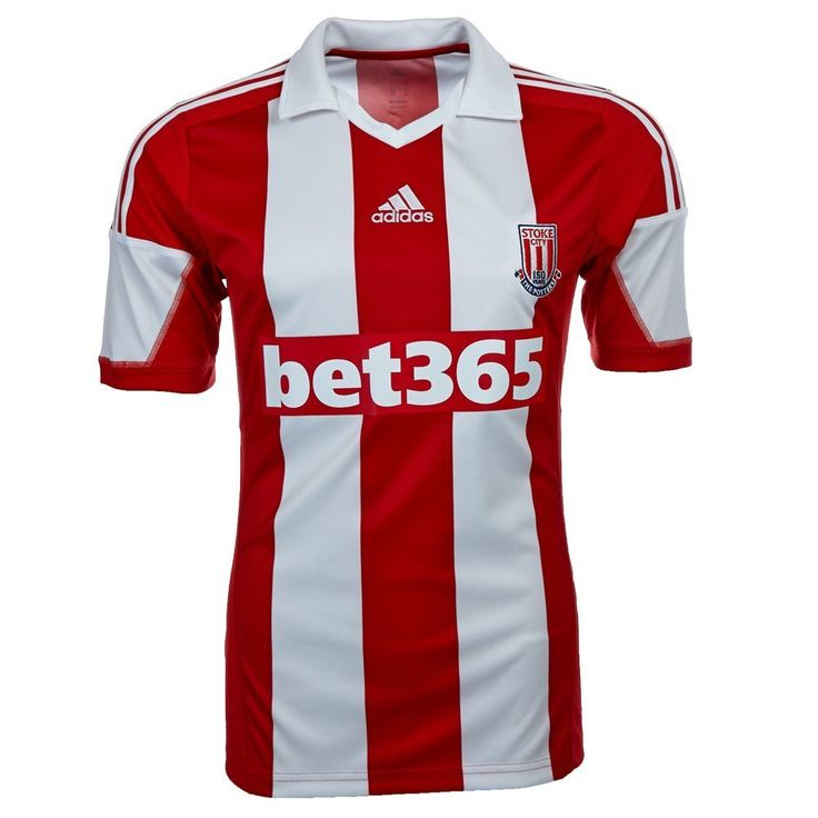 Stoke City FC (England) - 2013/2014 Adidas Home Shirt