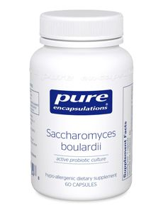 Saccharomyces boulardii (active probiotic culture) - Pure Encapsulations