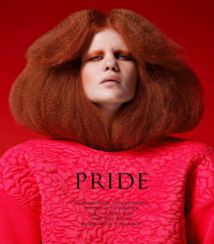 photographer: Attila Udvardi  styling: Ottó Horváth  make-up: Júlia Nagy  hair: Atee Miller @ Marosfalvi hair  model: Angel @ Avantage Models