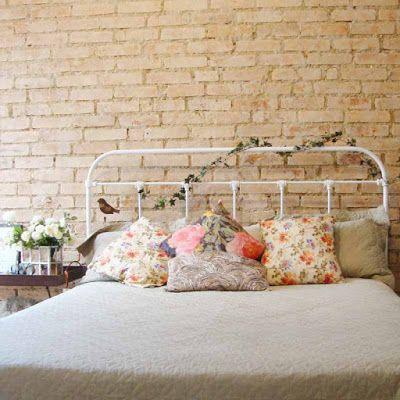 Dom Mascate - Móveis e Decoração Charmosa -Serralheria de Charme: Cabeceira de Ferro para cama Box