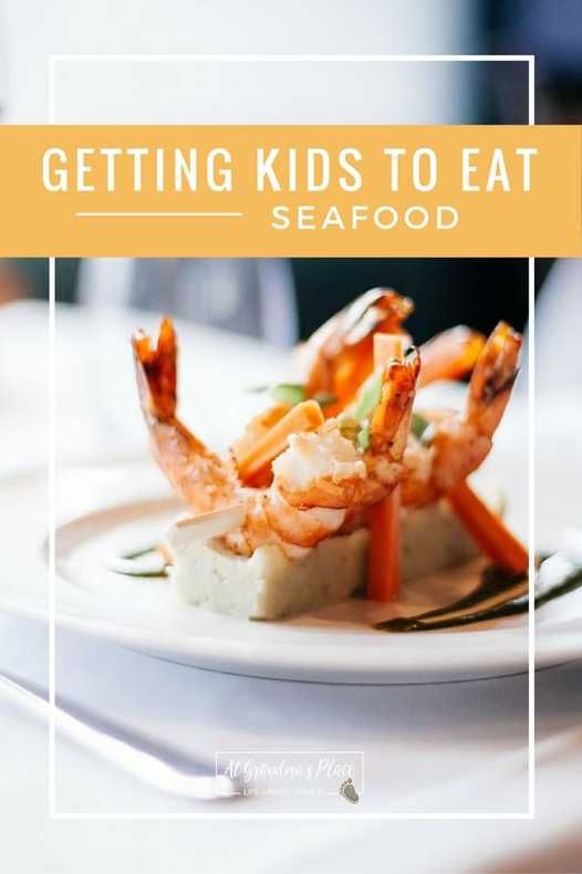 Getting the grandkids to eat seafood Find out how atgrandmasplace.com