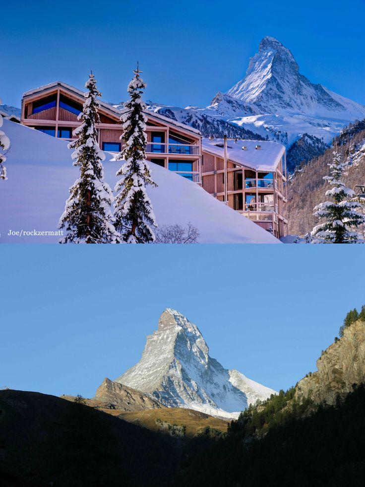 Hotel Matterhorn Focus | Design Hotel | Switzerland | http://lifestylehotels.net/en/matterhorn-focus | Matterhorn | Alps | Designhotel | Winter