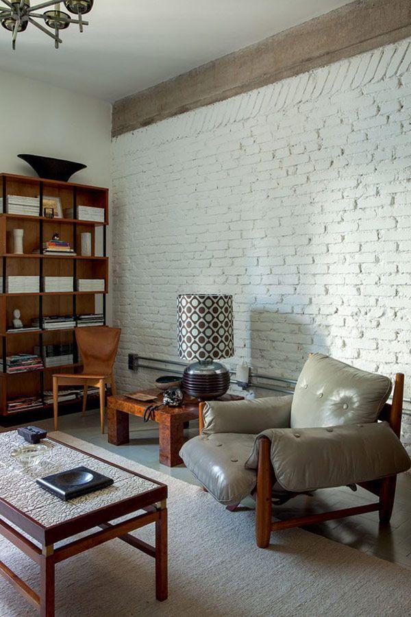 casa vouge . modern mid century brazil interiors #interiors #interior_design #modern