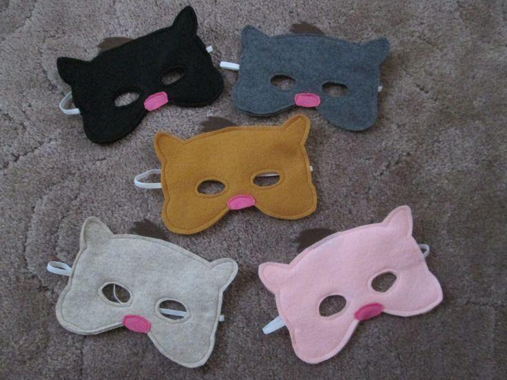 Hamster dress up play masks