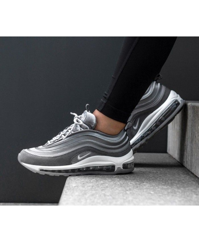 88650aa36 Nike Air Max 97 Ultra 17 Trainers In LX Gunsmoke Summit White Grey ...