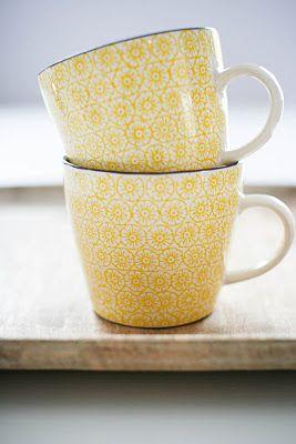 Mugs from Bloomingville. www.bloomingville.com