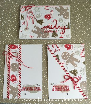 Stampin' Up! UK Demonstrator Laura Mackie: Stampin' Up! One Sheet Wonder - Candy Cane Christmas