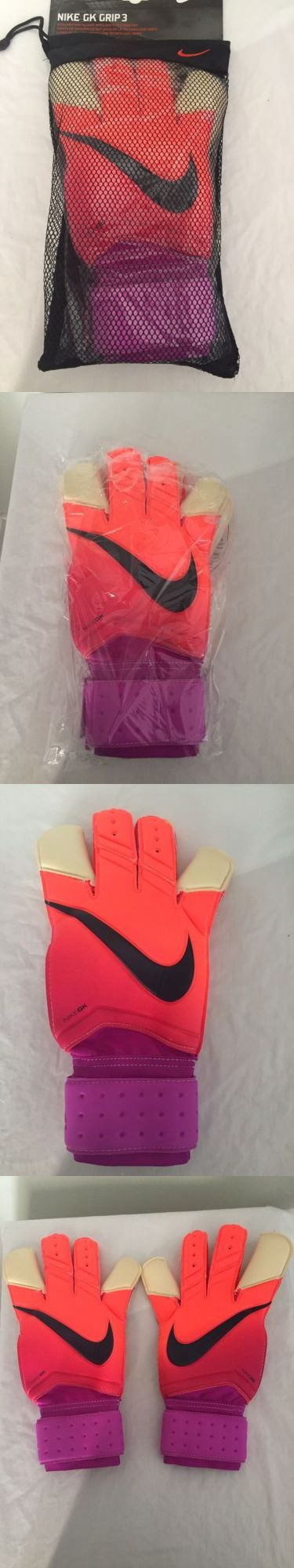 Gloves 57277: Adult Size 11 Nike Gk Grip 3 Goal Keeper Gloves Gs0329-815 -> BUY IT NOW ONLY: $34.99 on eBay!