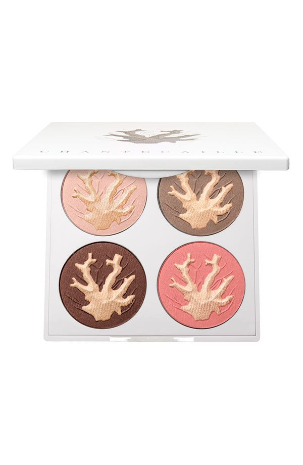 This Chantecaille 'Coral Reefs' Face Palette is just gorgeous. How would use this palette?