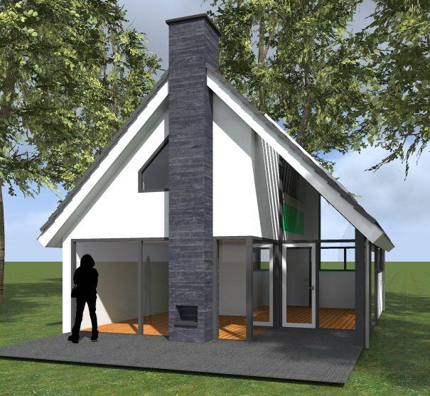 Concept recreatiewoning - Buitenhuis Villabouw