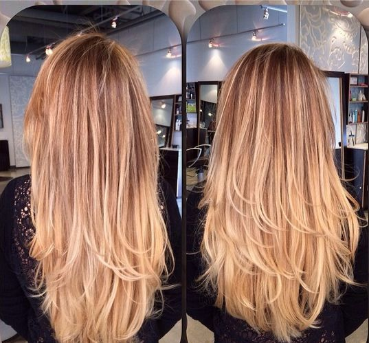 We love this balayaged ombre formula aka sombre and for Salon sombre