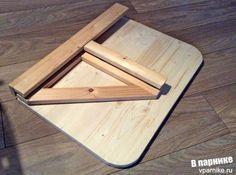 Настенный складной столик своими руками